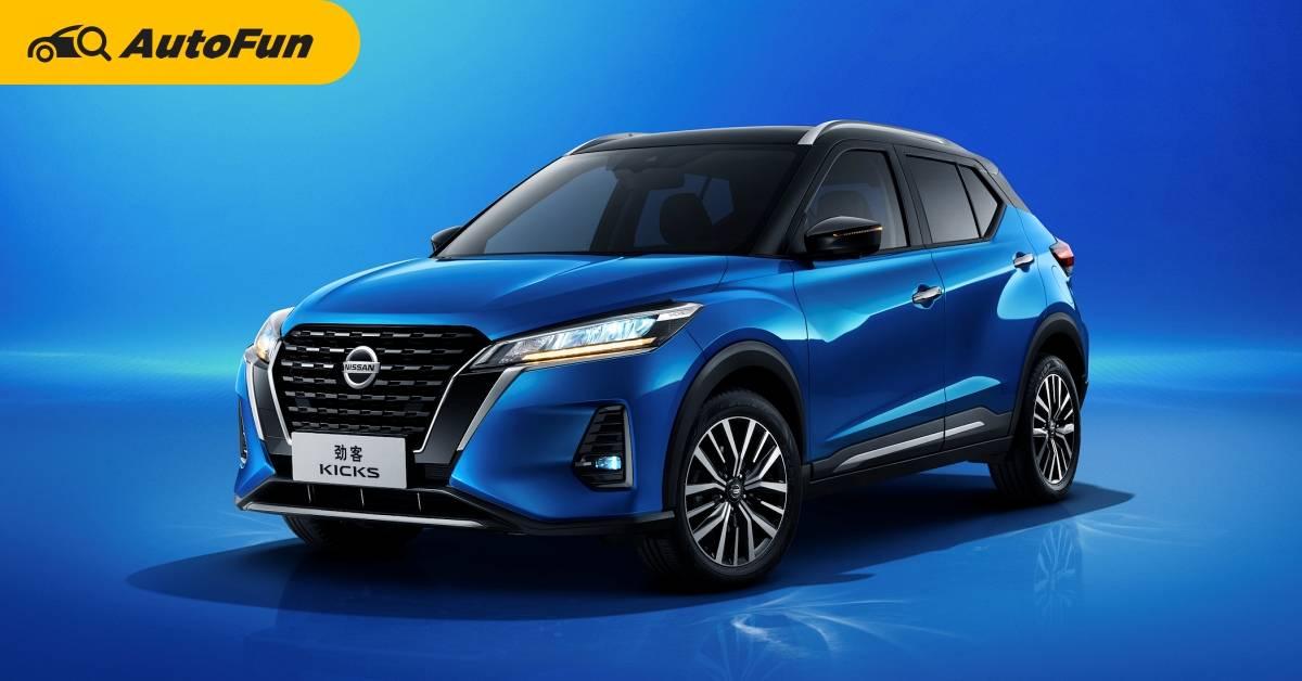 2021 Nissan Kicks หลุดภาพรุ่นใหม่ในจีน ได้เครื่องเบนซินต่างจากไทย ใส่ไฟท้ายทรงเท่ห์กว่าเดิม 01