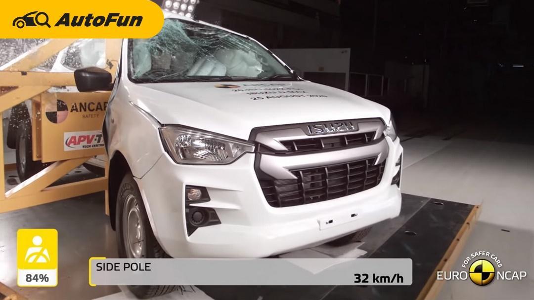 พลานุภาพ แคล้วคลาด 2020 Isuzu D-Max ทดสอบความปลอดภัย Euro NCAP ได้ 5 ดาว 01