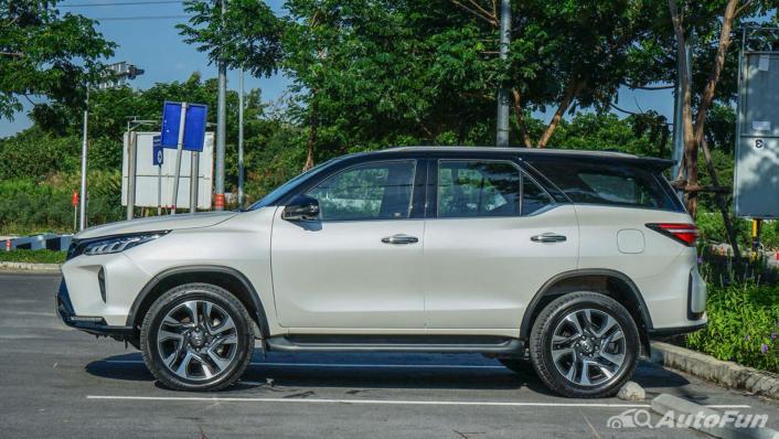 2020 Toyota Fortuner 2.8 Legender 4WD Exterior 008