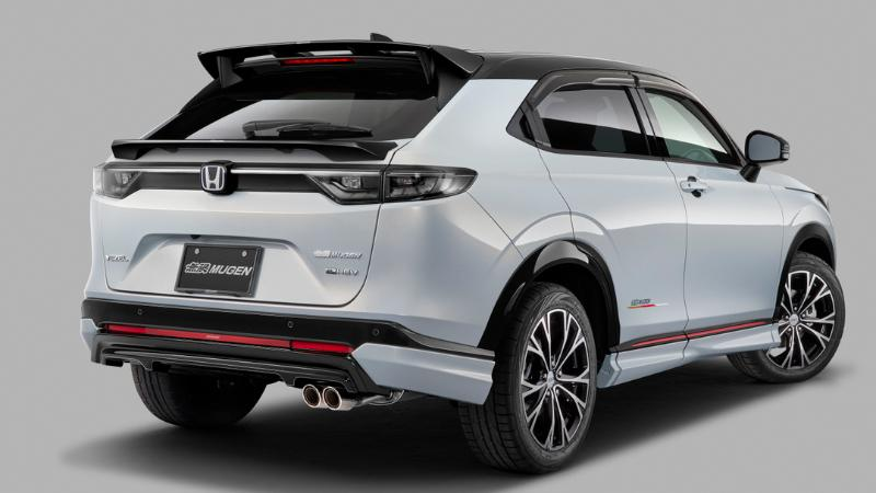 2021 Honda HR-V สวมชุดแต่ง Mugen พาชมแบบเจาะแยกชิ้นราคาเท่าไหร่บ้าง? 02