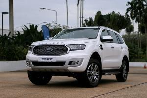 ชมคันจริง 2021 Ford Everest หน้าใหม่เครื่องดีขึ้น ราคาเดิมเริ่มต้น 1,299,000 บาท