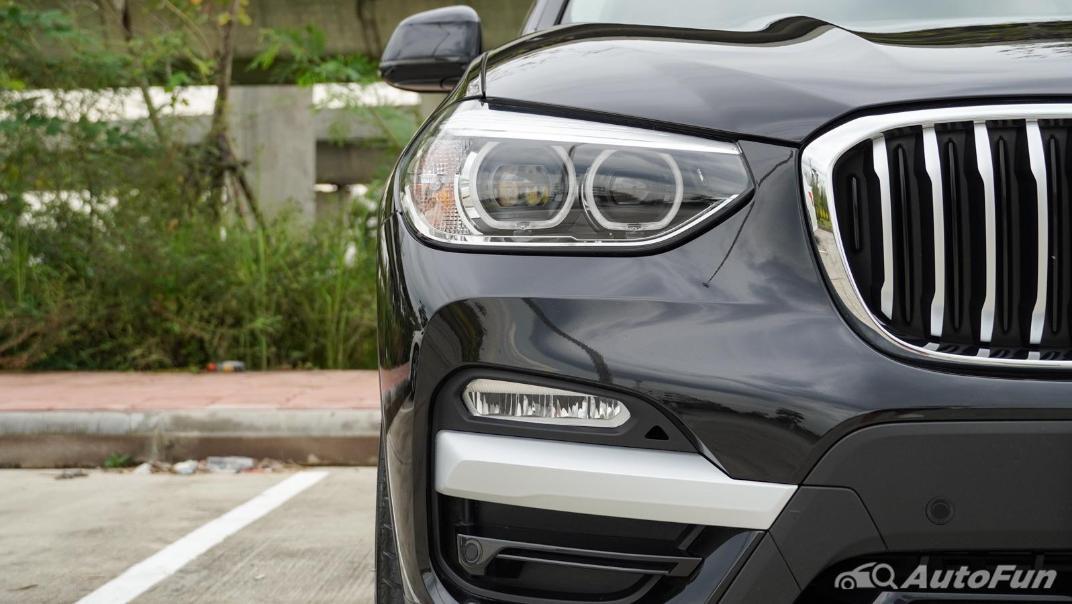2020 2.0 BMW X3 xDrive20d M Sport Exterior 011