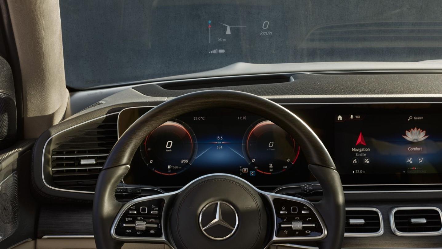 Mercedes-Benz GLS-Class 2020 Interior 013