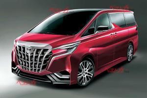 2022 Toyota Alphard รุ่นใหม่อาจหน้าตาโหดล้ำ วางขุมพลังเทอร์โบชาร์จ!