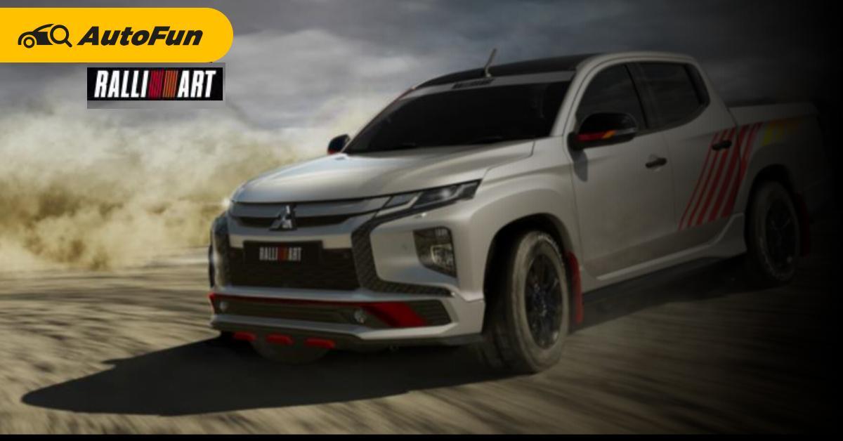 Mitsubishi ฟื้นแบรนด์ Ralliart เล็งขายของแต่ง Triton - Pajero Sport เจ้าของควรเก็บเงินรอ 01