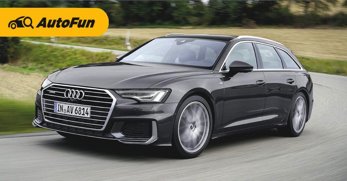 Review: Audi A6 Avant รถหรูสไตล์ผู้นำ 01