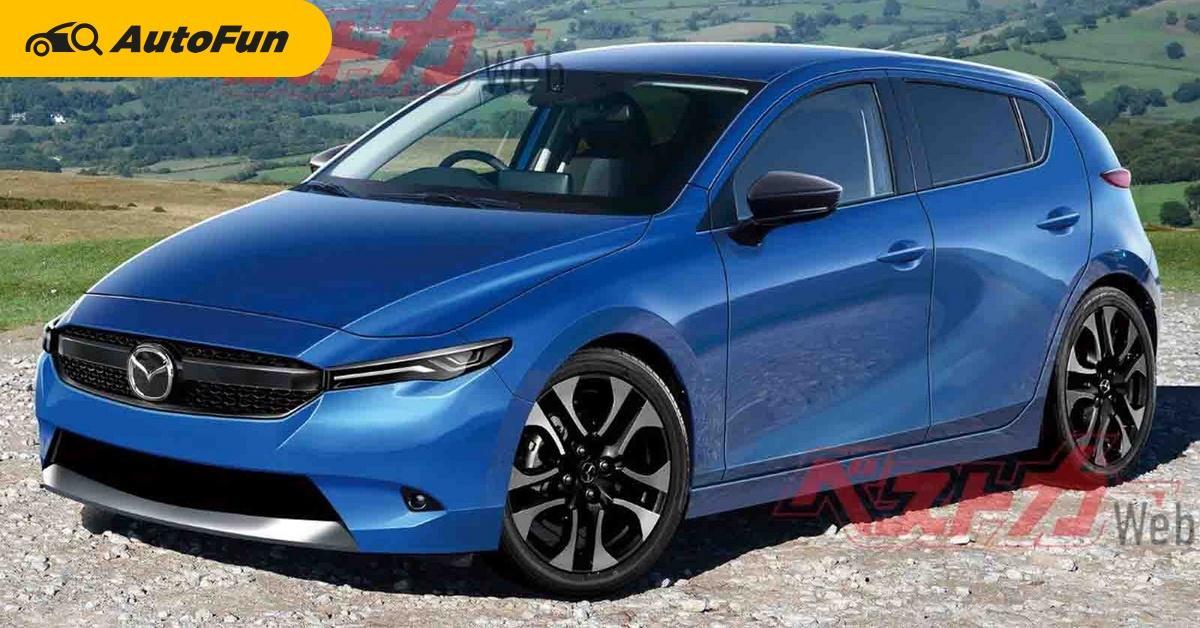 เรนเดอร์ใหม่ All-New 2021 Mazda 2 เปิดตัวกันยายนนี้ มีอะไรควรค่าแก่การรอ? 01