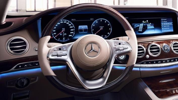 Mercedes-Benz S-Class 2020 Interior 009