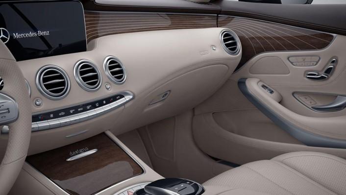 Mercedes-Benz S-Class Cabriolet Public 2020 Interior 009