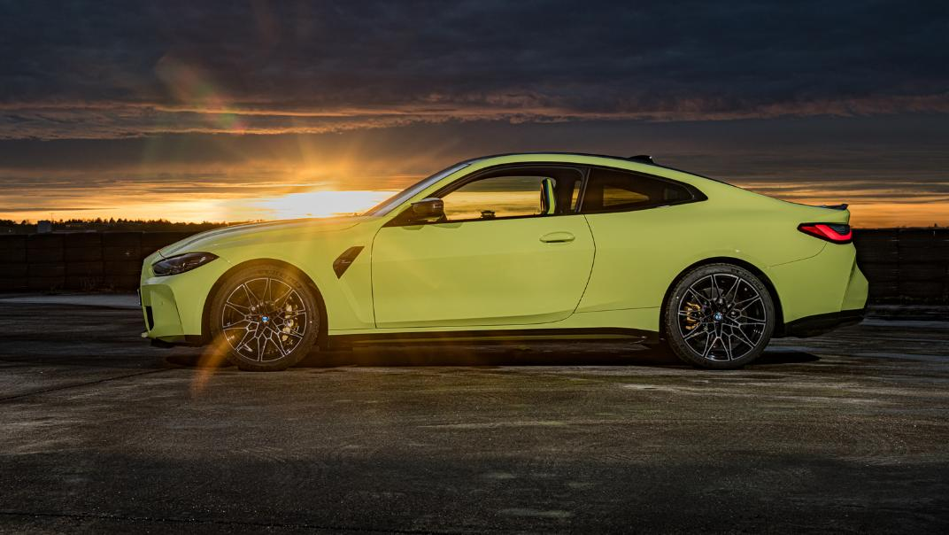 2021 BMW M4 Coupe Competition Exterior 013
