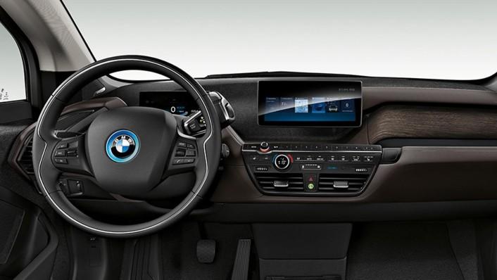 BMW I3S 2020 Interior 006
