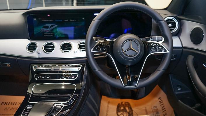 2021 Mercedes-Benz E-Class Saloon E 220 d AMG Sport Interior 002