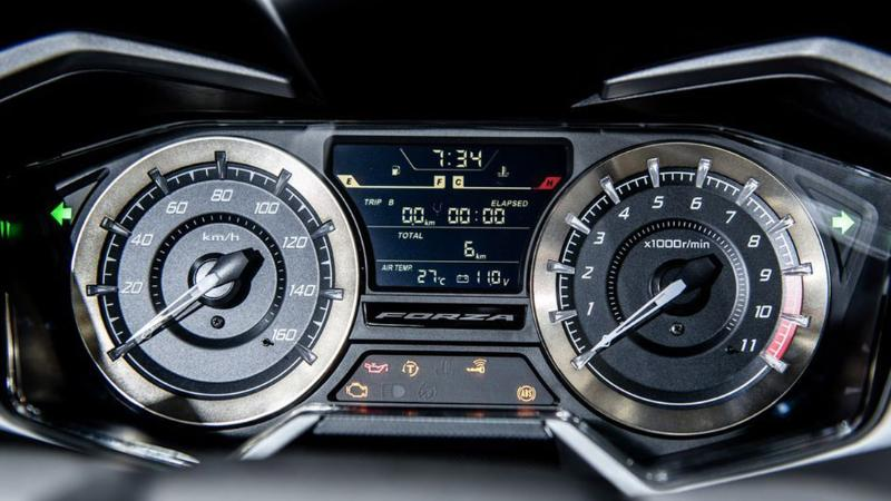 Review : Wild-Motorcycles เปิดตัว 2020 New Honda Forza 350 อัพเครื่องยนต์ใหม่ 02