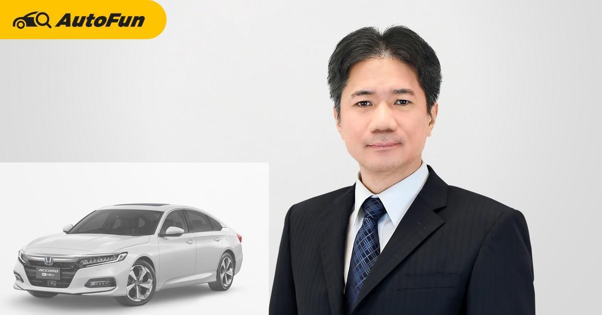 โนริยุกิ ทาคาคุระ : Honda ตั้งเป้าเบอร์ 1 รถยนต์นั่ง พร้อมรบในทุกเซกเมนต์ปีนี้ 01