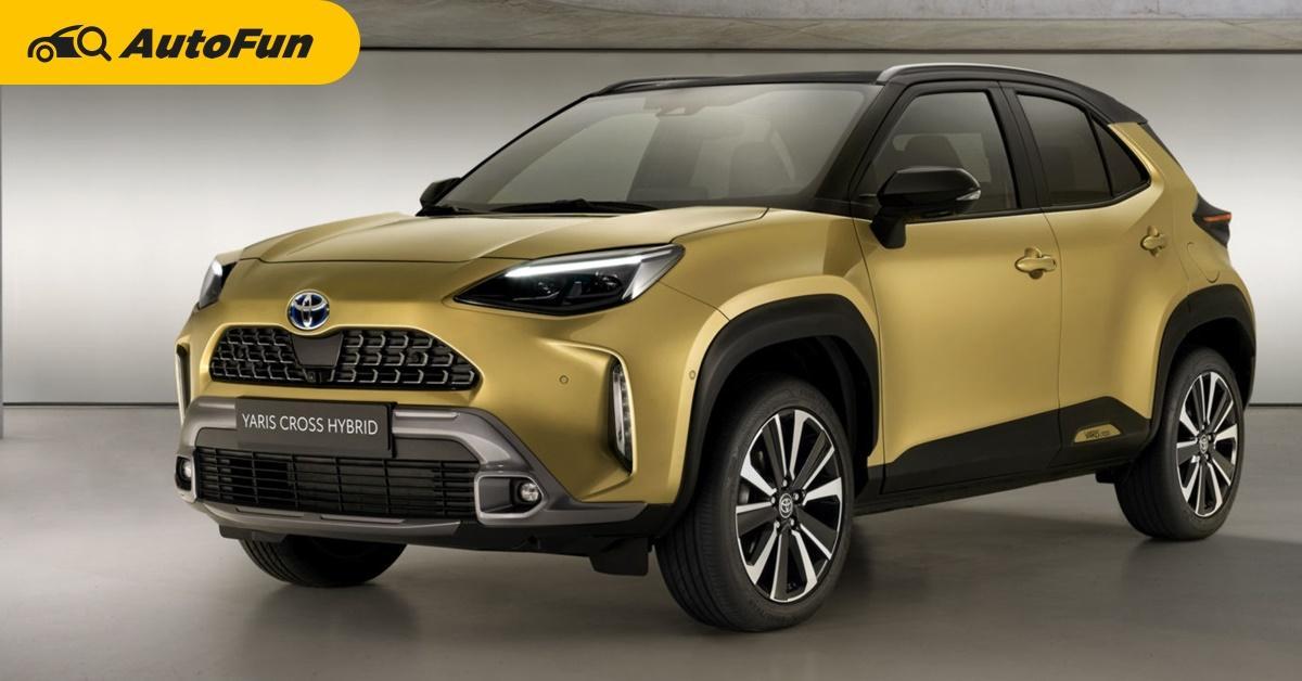 มาขายไทยเถอะ!!! 2021 Toyota Yaris Cross แต่งเพิ่มรุ่น Adventure เอาใจสายลุย 01
