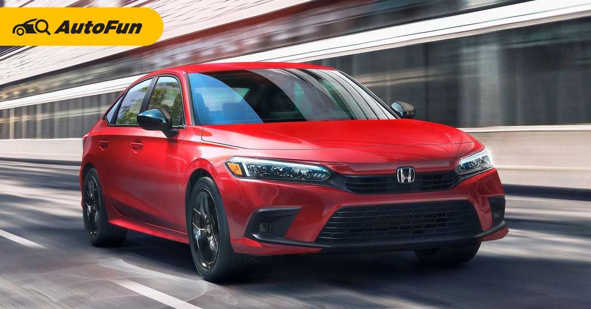 สิ้นสุดการรอคอย ยลโฉม 2022 Honda Civic มาแบบนี้ Toyota Corolla Altis หงอยต่อไป 01