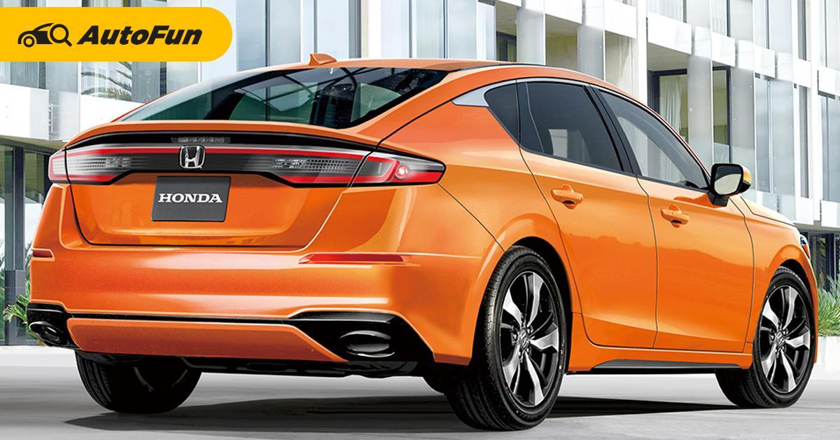หลุดข้อมูล 2022 Honda Civic Hatchback เจอกันกรกฎาคม-ไฮบริด e:HEV ปีหน้า!? 01
