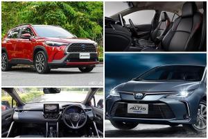 2021 Toyota Corolla Cross แพงกว่า Corolla Altis  100,000 บาท คันจะคุ้มกว่ากัน