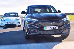 Ford ขยี้ Tesla เผยผลสำรวจลูกค้า 2021 Ford Mustang Mach-E ร้อยละ 70 เคยใช้เทสล่ามาก่อน
