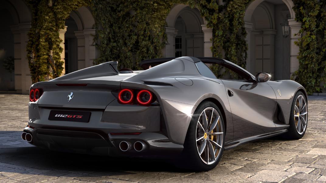 2020 Ferrari 812 GTS 6.5L Exterior 002