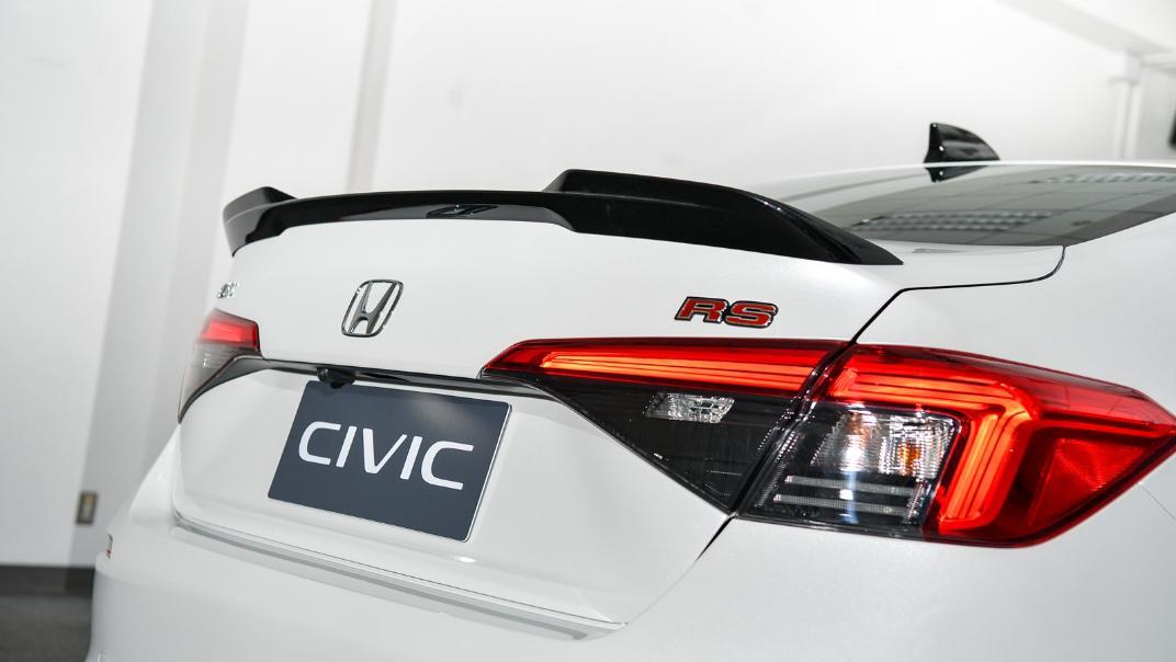 2022 Honda Civic RS Exterior 045