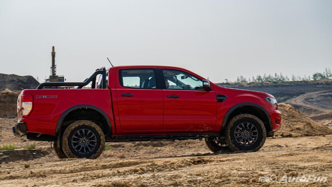 2021 Ford Ranger FX4 MAX Exterior 042