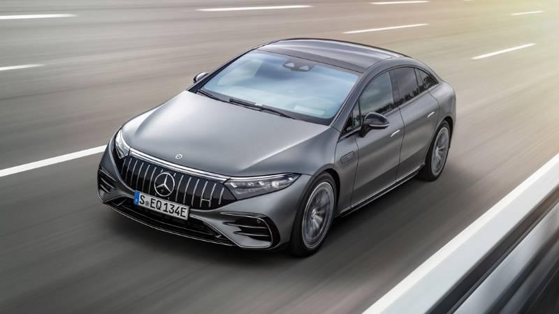 Mercedes-AMG EQS 53 ท้าตี Tesla Model ด้วย AMG Dynamic Plus เสริมความแรงอีก 100 แรงม้า 02