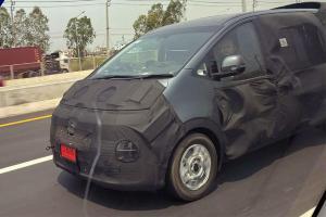 2021 Hyundai Staria สปายช็อตในไทย เก็บเงินเตรียมดาวน์รถเอ็มพีวีล้ำยุคได้เลย