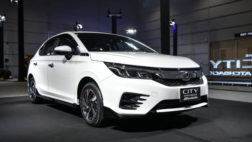 2021 Honda City Hatchback 1.0 Turbo SV Exterior 001