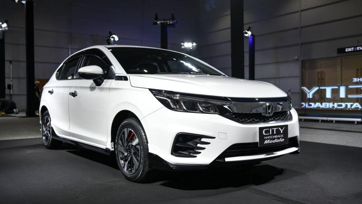2021 Honda City Hatchback 1.0 Turbo SV Exterior 001
