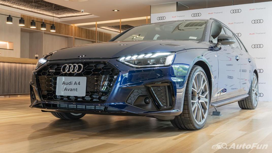 2020 Audi A4 Avant 2.0 45 TFSI Quattro S Line Black Edition Exterior 087