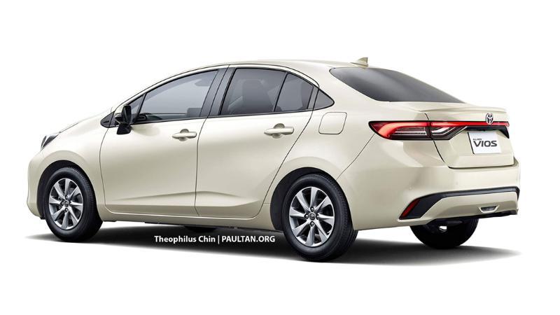 เผยภาพร่าง 2022 Toyota Vios ใหม่นุ่มละมุนสายตาอาจมาพร้อมระบบไฮบริด! 02