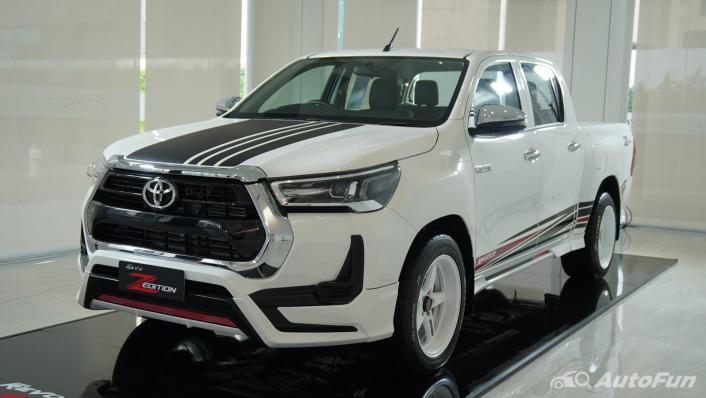 2021 Toyota Hilux Revo Double Cab Z Edition Exterior 001