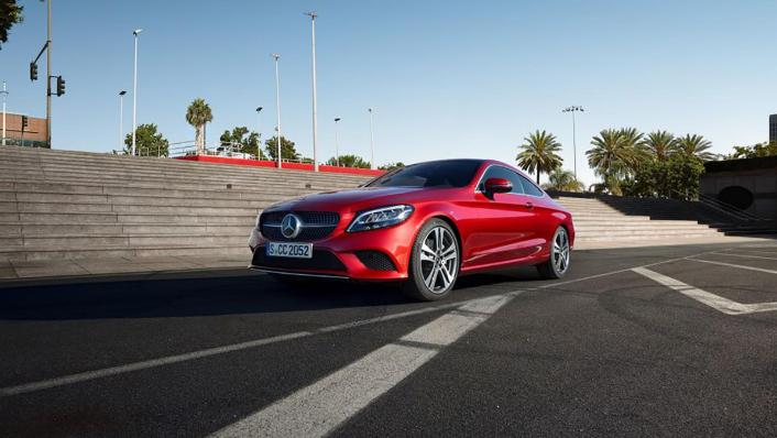 Mercedes-Benz C-Class Coupe 2020 Exterior 001