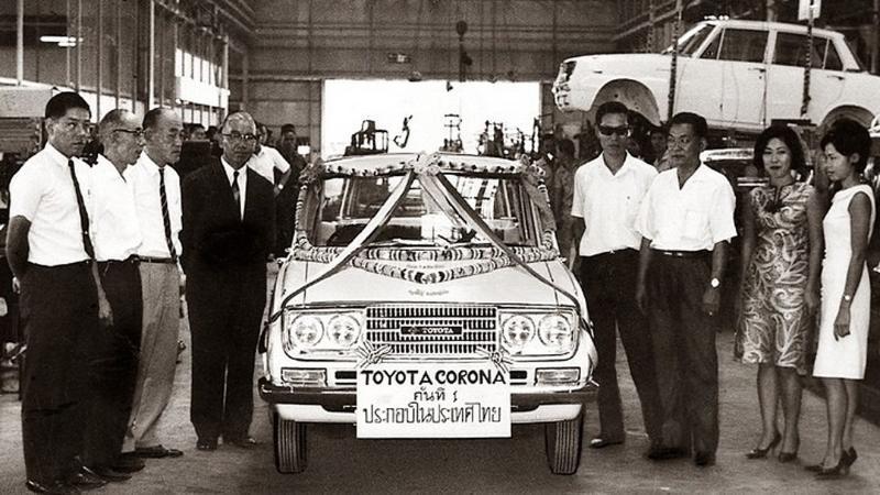 อิทธิพลของ Toyota ต่ออุตสาหกรรมยานยนต์ไทย สรุปได้ในรถ 5 รุ่น 02