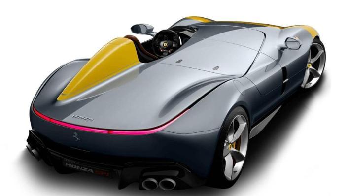 2020 Ferrari Monza SP1 V12 Exterior 002