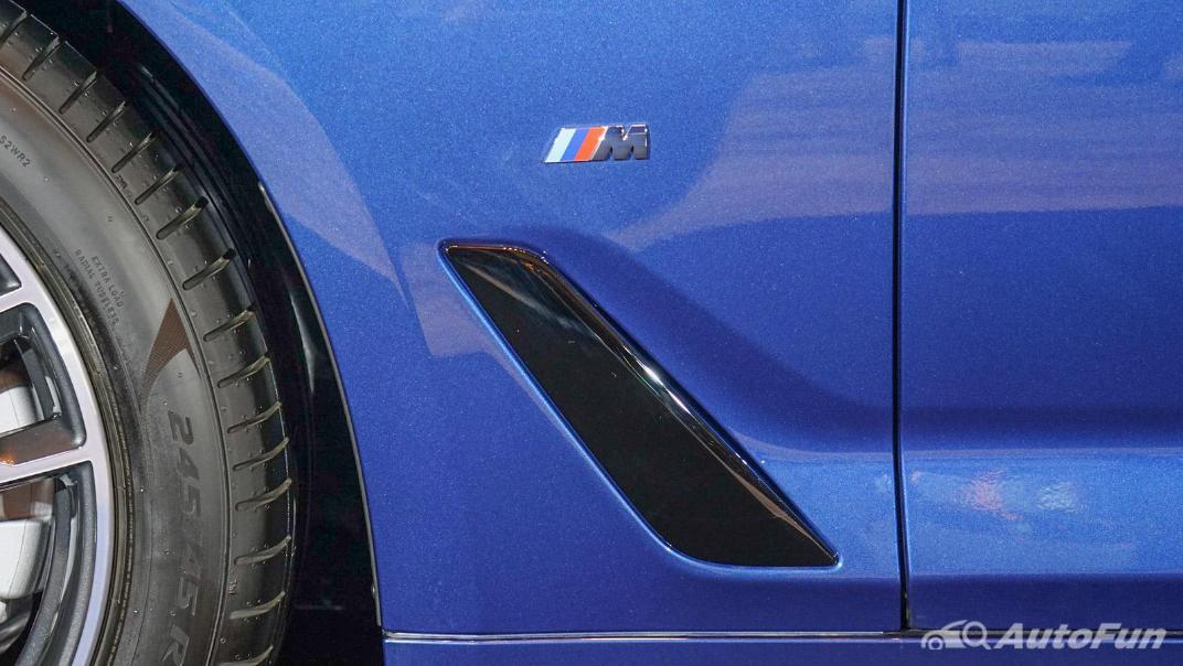 2021 BMW 5 Series Sedan 520d M Sport Exterior 016