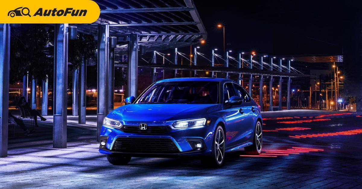 หลุดราคา 2022 Honda Civic อเมริกาอาจไม่เกิน 700,000 แถม Honda Sensing ตั้งแต่รุ่นล่าง 01