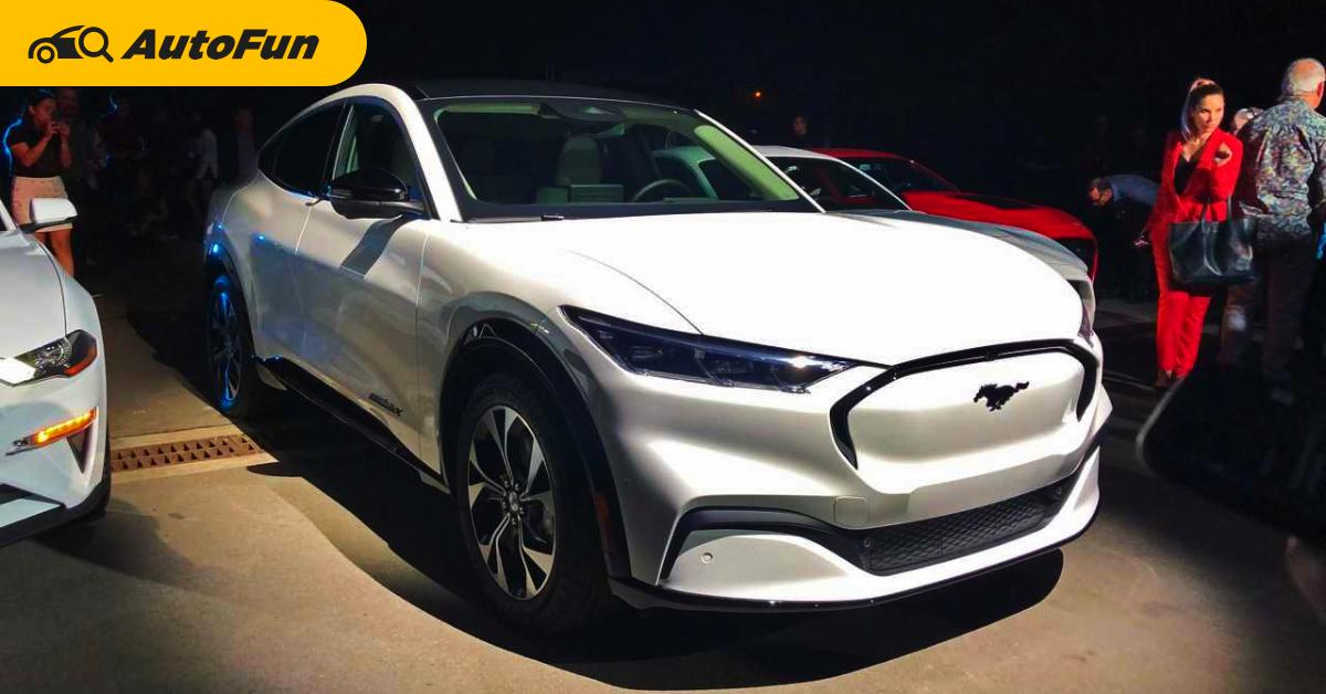 ถ้าหาก 2022 Ford Mustang Mach-E เปิดตัวในไทยราคา 3.5 ล้านบาท คุณยังจะซื้อ Tesla อยู่ไหม? 01