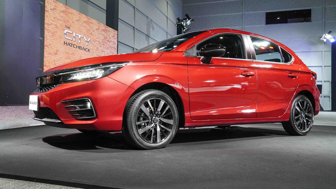2021 Honda City Hatchback 1.0 Turbo RS Exterior 046