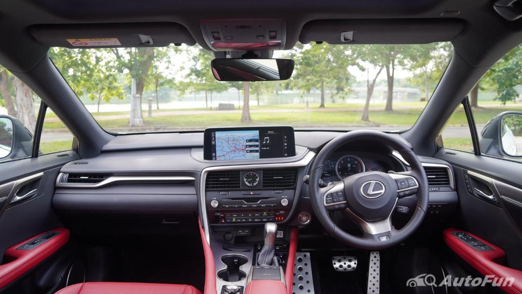 2020 Lexus RX 3.5 350 F Sport Interior 001