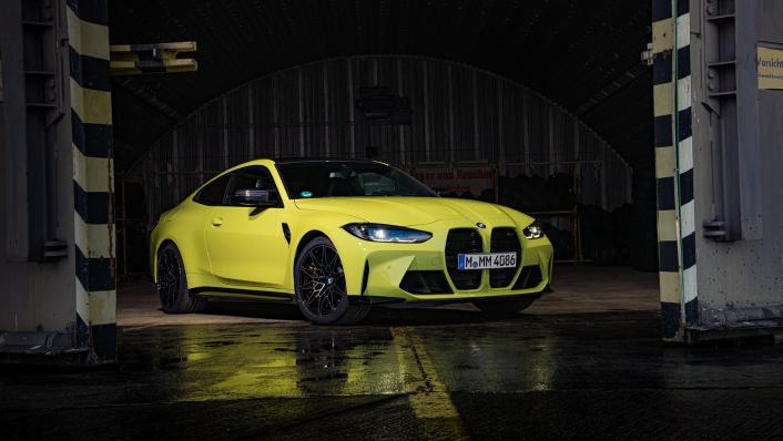 2021 BMW M4 Coupe Competition Exterior 003