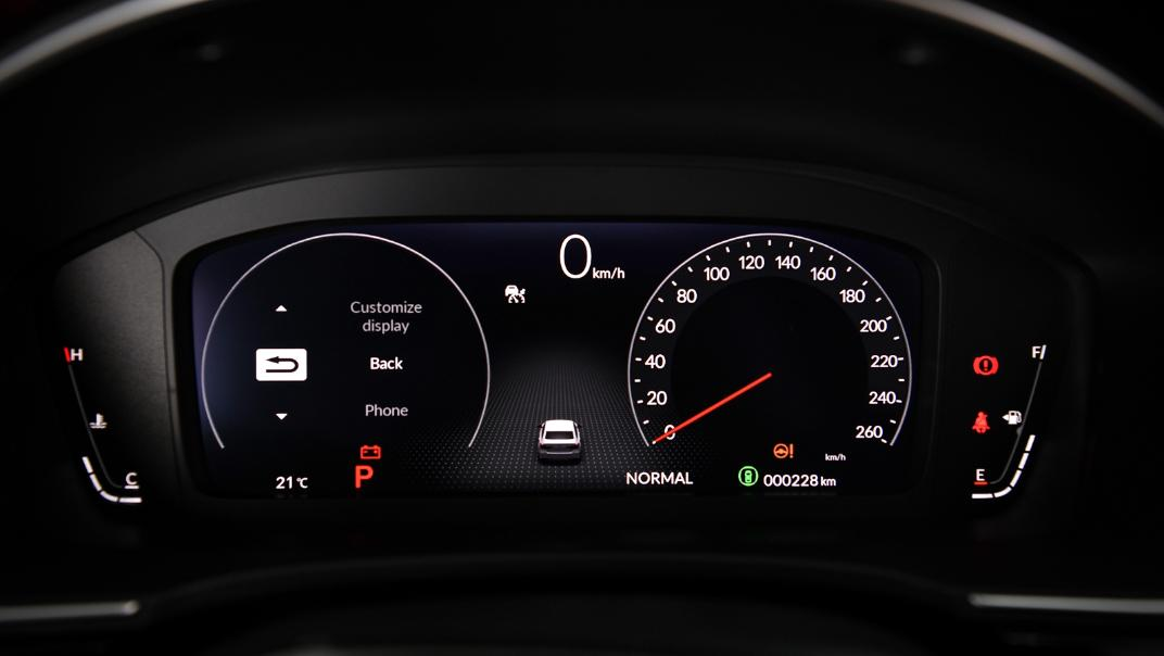2022 Honda Civic RS Interior 014