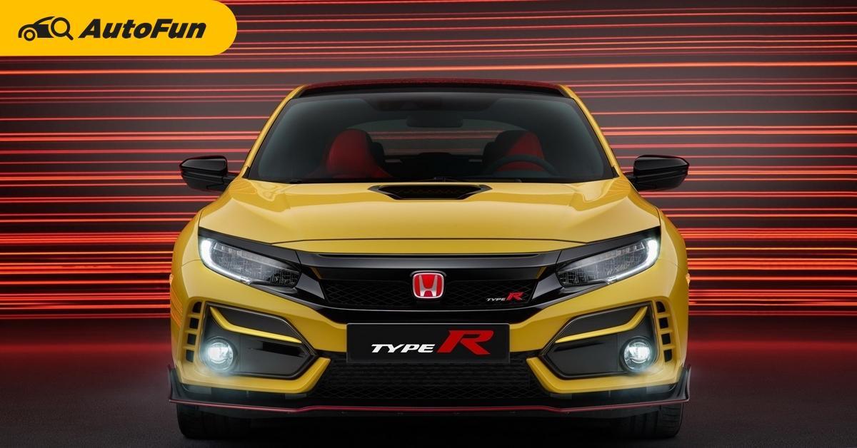 2020 Honda Civic Type R ขายอังกฤษเริ่มต้น 1.3 ล้านบาท ราคาแพงขึ้นแต่ถูกจองหมดเกลี้ยง 01