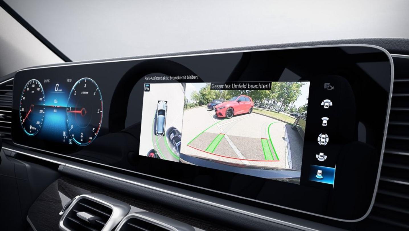 Mercedes-Benz GLS-Class 2020 Interior 015