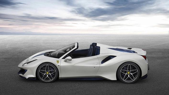 2020 Ferrari 488 Pista Spider 3.9 V8 Exterior 005