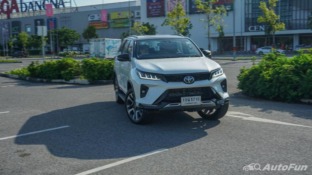 2020 Toyota Fortuner 2.8 Legender 4WD Exterior 043