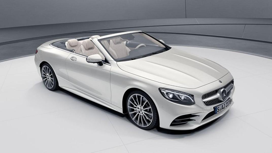Mercedes-Benz S-Class Cabriolet 2020 Exterior 012