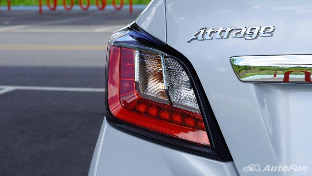 2020 1.2 Mitsubishi Attrage GLS-LTD CVT Exterior 034
