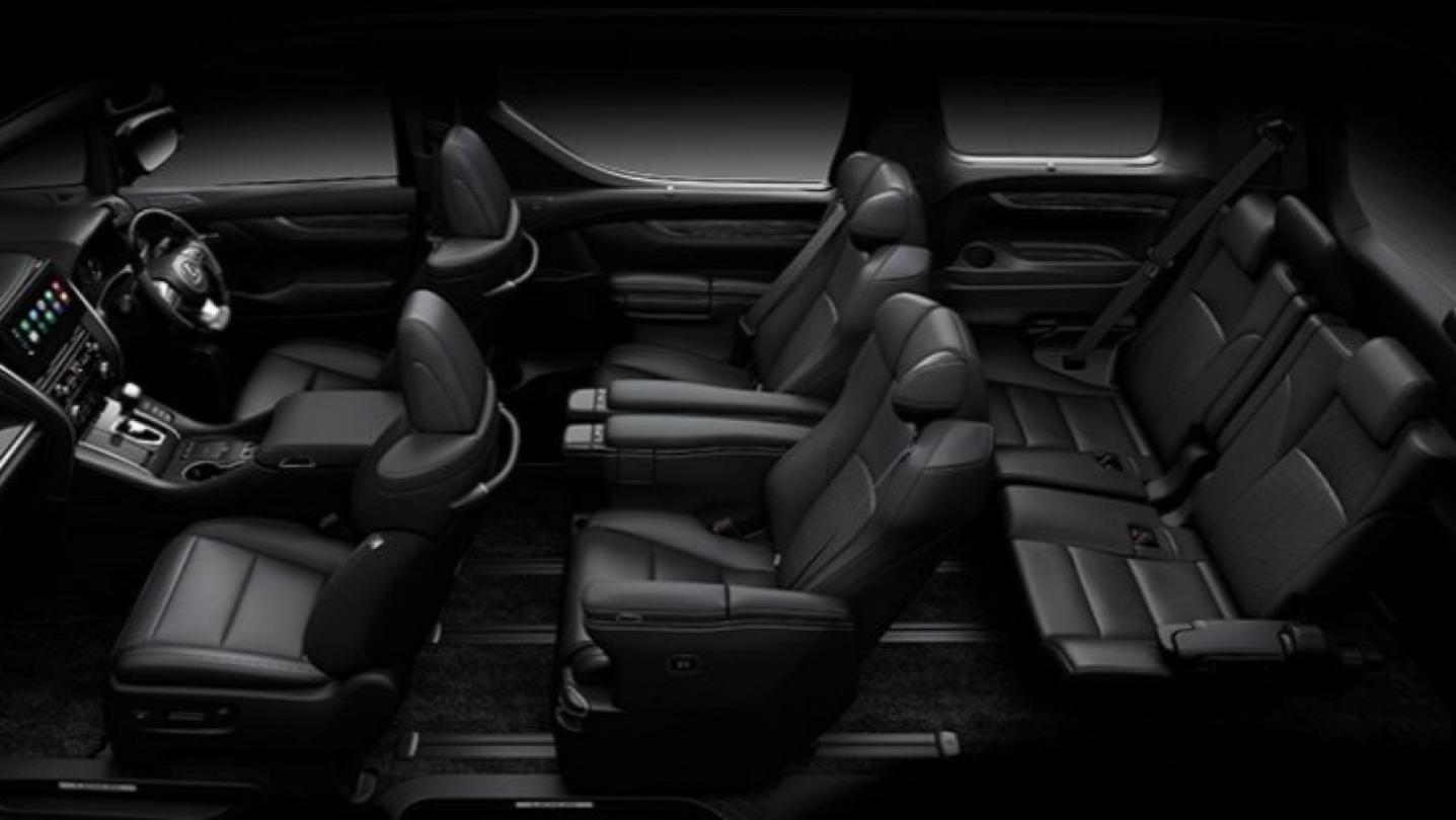 Lexus LM 2020 Interior 002